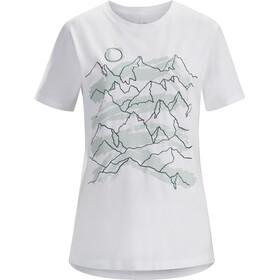 Arc'teryx Playground Maglietta a maniche corte Donna bianco